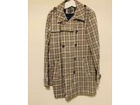 'Common People' Checked Parka