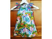 girls unicorn dress age 5-6y