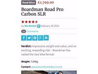 Boardman Road Pro carbon SLR 2016 size 54
