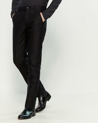 NWT - $275 HANNES ROETHER Track 714 Black Stretch Cotton Trousers Size XL