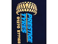 Prestige tyres