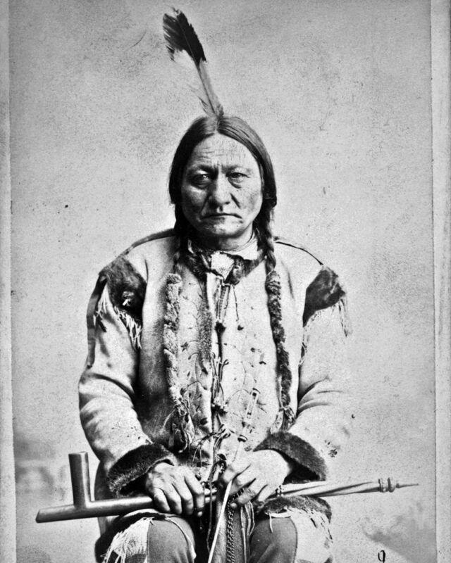 New 8x10 Native American Photo: Sitting Bull, Hunkpapa Lakota Indian Holy Man
