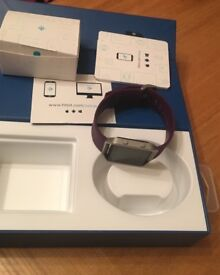 Great condition Fitbit Blaze with purple strap fully boxed