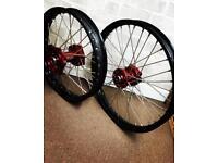 Honda Crf250 Crf450 Talon Wheels wheel set crf 250 crf 450 wheelset