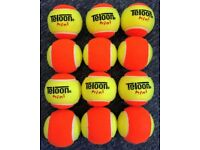Teloon Mini Tennis Sage 2 Orange Tennis Balls 1 Dozen ( 12 )