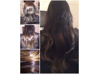 BEAUTIFUL VIRGIN HAIR EXTENSIONS NOTTINGHAMSHIRE**£100OFF***FULL STOCK***NO DEPOSITS***PURE LUXURY