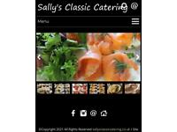 10% off Sally's Classic Catering Funerals weddings BBQs Buffets Afternoon Tea