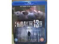 Friday the 13th Part 1, Part 2 Special Edition and Part 3 Special Edition on Blu Ray