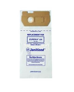 Paper Bag Eureka Aa, Fits Eureka 4100, 4300, 4400,4500, 4600, 5180 Series Uprights - Micro Filter Case Of 12 3Pks
