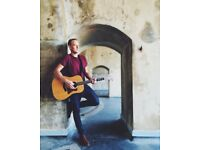 Acoustic Singer/Guitarist for Parties and Events HUGE SONGLIST Watch Videos!