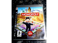 MONOPOLY Classic & World Edition For Sony Playstation 3 / PS3 GAME