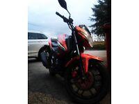 Kymco ck1 125cc motorbike