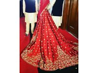 Asian Bridal red wedding gown