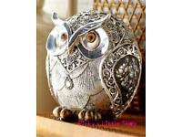 SILVER ROSE OWL