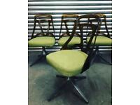 Super cool set of retro American Howell chairs. Mid Century Modern classics.