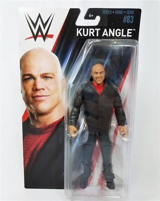 Kurt Angle WWE Mattel Basic Series 83 Brand New Action Figure - Mint Packaging