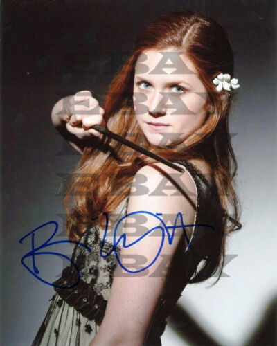 Bonnie Wright Harry Potter Autographed Signed 8x10 Photo Reprint