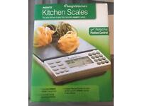 Eleectronic kitchen scales, Weight Watchers, brand new still in box