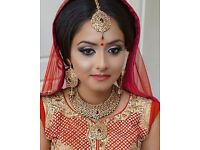 Experienced make up artist providing makeup and hair styling