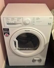 Hotpoint Aquarius 9kg Condenser Tumble Dryer - White - TCFS93BGP