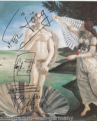 Jean Paul Gaultier TOP AK Orig. Sign. + G 5287