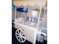 Large Candy Cart Hire prices from only £80