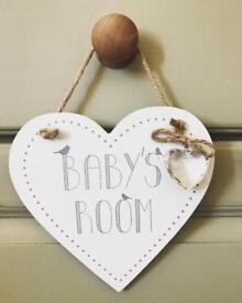 Baby's Room Plaque.. ♡