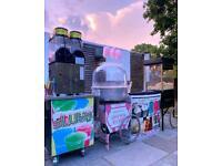 Candyfloss, Popcorn Machine Hire,Chocolate Fountain, candy floss, photo booth, slush, Sweet pic mix