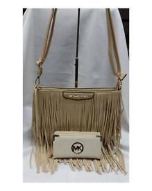 MK Micheal Kors tassel bag and purse sets