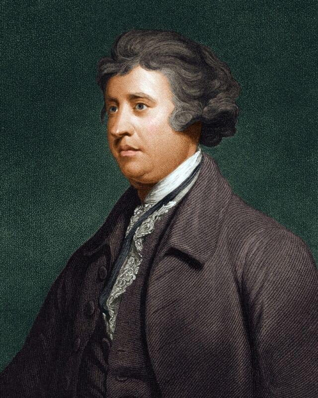 New 8x10 Photo: Irish Statesman, Political Theorist & Philosopher Edmund Burke
