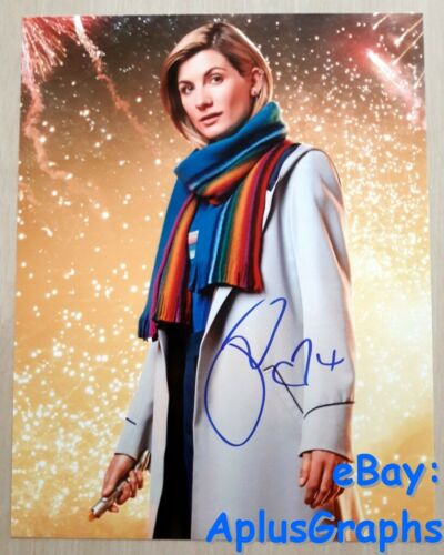 JODIE WHITTAKER.. Doctor Who #13 (11x14) SIGNED
