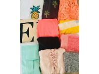 Trendy T-Shirt bundle- 11 t-shirts- BARGAIN