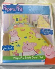 Peppa Pig 🐷 duvet set