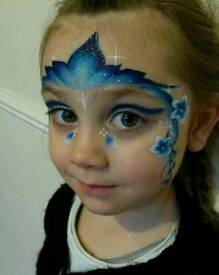 Face and body paints childrens entertainment