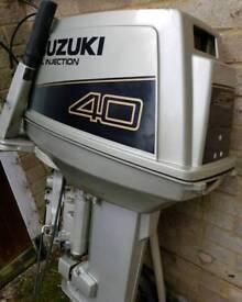 Suzuki 40hp 2 stroke