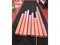 Various Oak Handrails for 32mm Spindles