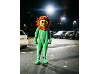 Sunflower Mascot Costume - Perfect for Halloween
