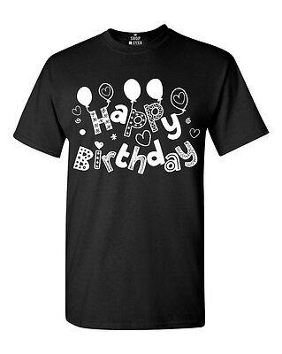 Happy Birthday T-Shirt Bday Gift Birthday Girl Boy Novelty Birthday Shirt ()