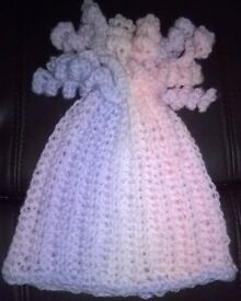 crocheted baby hat with spirals first size pastel colours mixture new sale price