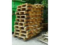Timber used stillages Industrial looking.