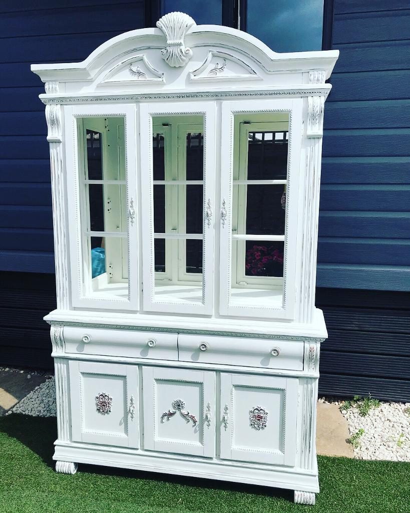 White French Display Cabinet In Waterlooville Hampshire Gumtree