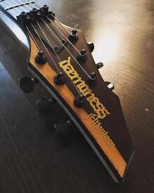 Daemoness Atlantean custom 6 string guitar