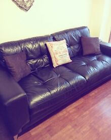 DFS Domain 3 Seater Sofas (x2)