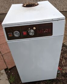 Oil Boiler Myson Velair Riello RDB1 burner 70-90 plus 2 Wilo RS50 gold central heating pumps 3M flue