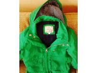 Green Jacket lost on lyme regis beach
