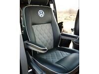 LEATHER CAR SEAT COVERS VOLKSWAGEN SHARAN SHARON FORD GALAXY