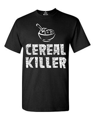 Cereal Killer T-Shirt Funny Foodie Pun Punny Humor Novelty Halloween Shirts (Halloween Puns)