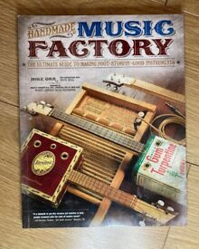 Home Made Instruments Book (cigar box guitars, diddley bows etc.)