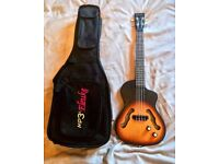 Electric tenor ukulele