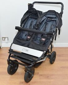 Mountain Buggy Duet with Carrycot & Extras
